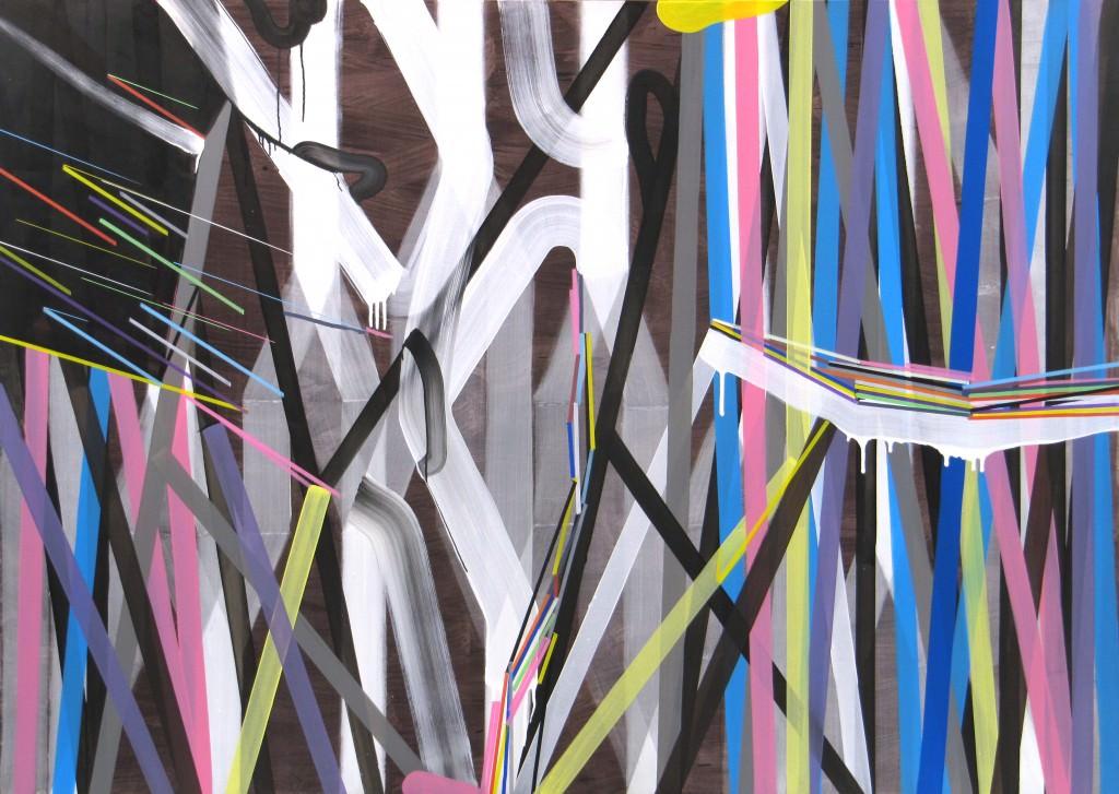 JOSÉ PIÑAR_ST_2013_Acrílico sobre tela_150x210cm. Cortesía de Galería Aural