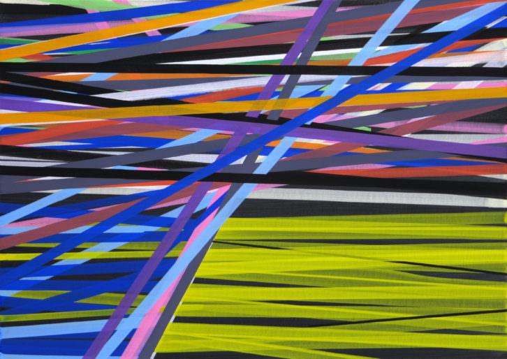 JOSÉ PIÑAR_ 2012 ST _11 Acrílico sobre tabla 25 x 35 cm. Imagen por cortesía de Galería Aural