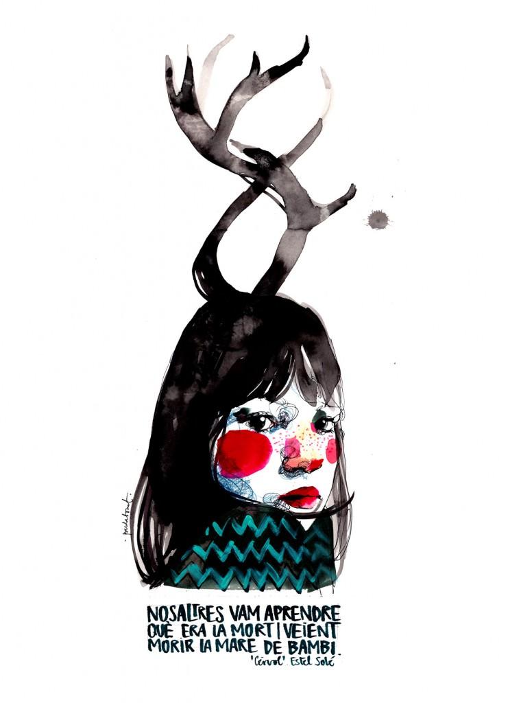 Paula Bonet. Cèrvol. Imagen por cortesía de la artista