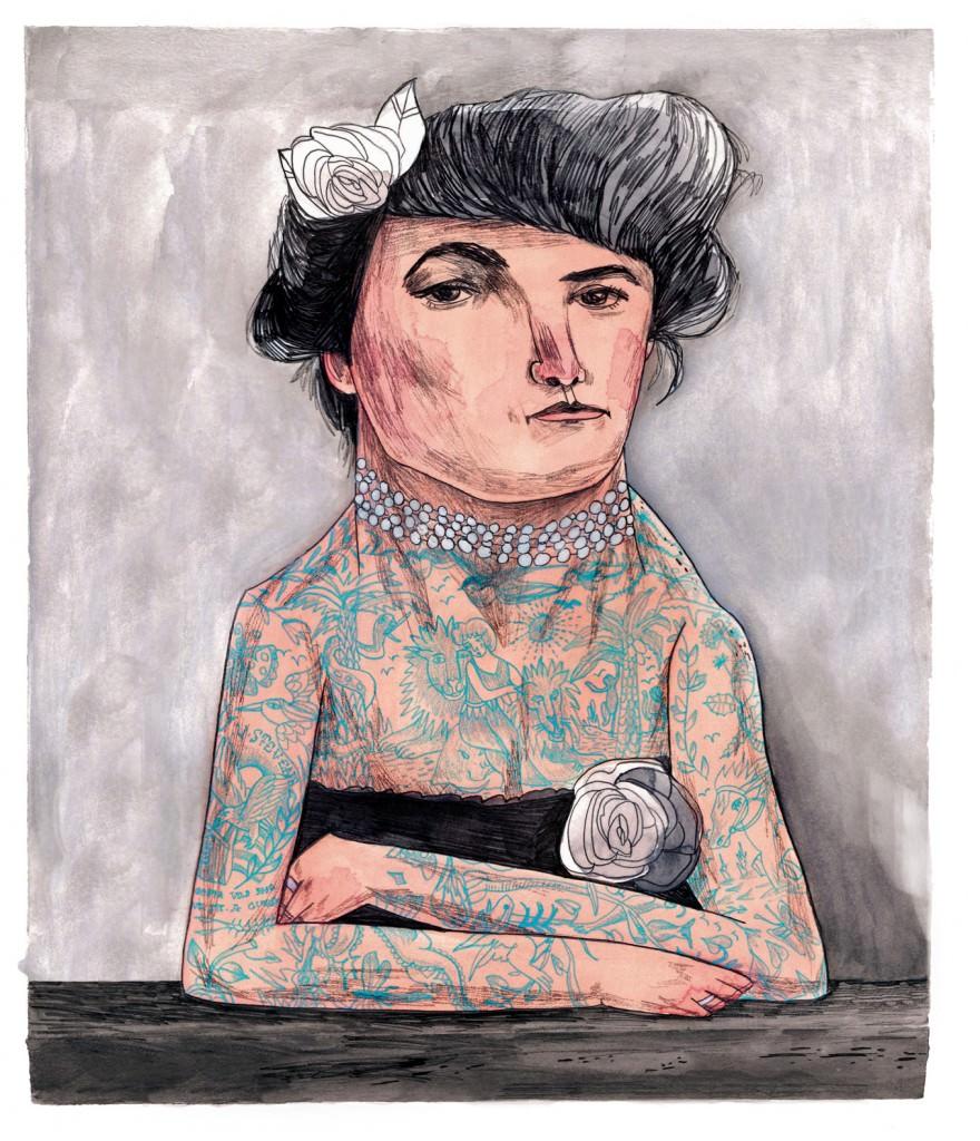 María Herreros. Fenómena. Imagen por cortesía de la artista