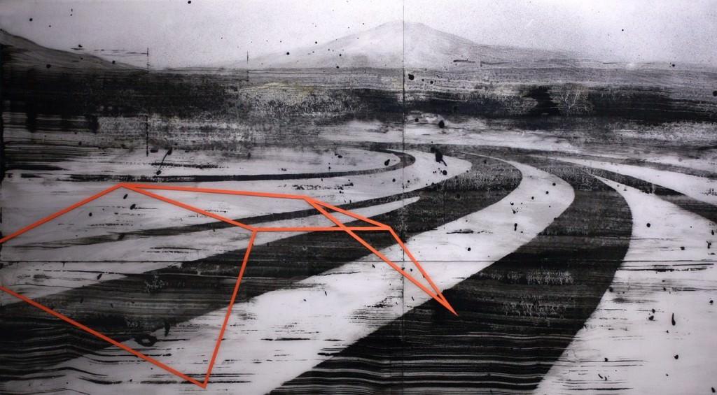 Keke Vilabelda. Looking NORTH.LOWRES. Imagen por cortesía de Galería 9