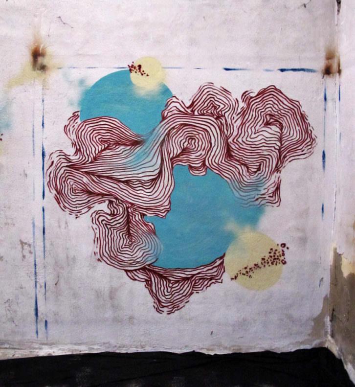 Rosh 333. Diagrama de Venn. Imagen por cortesía de Mustang Art Gallery