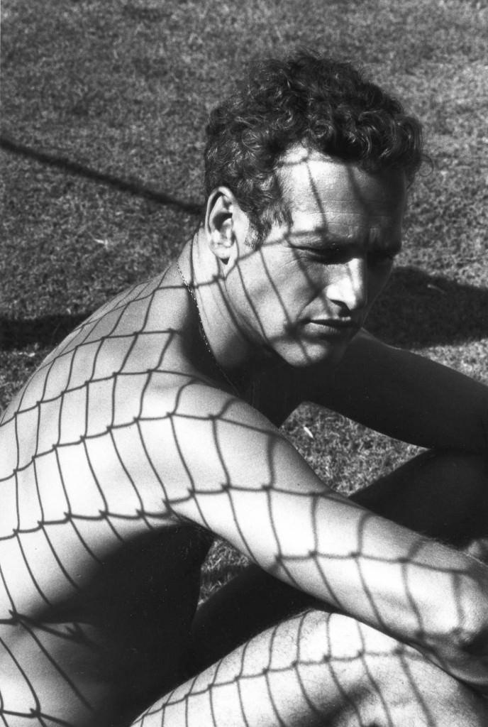 Dennis Hopper, Paul Newman, 1964. 60,9 x 40,6 cm. Imagen cortesía del Museo Picasso de Málaga.