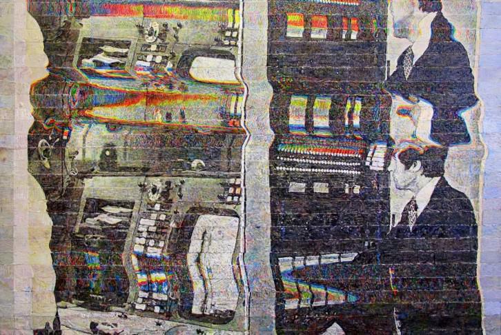 """Alejandro Bombín, obra en """"Presentísimo pretérito"""". Imagen cortesía de Galería Fernando Pradilla."""