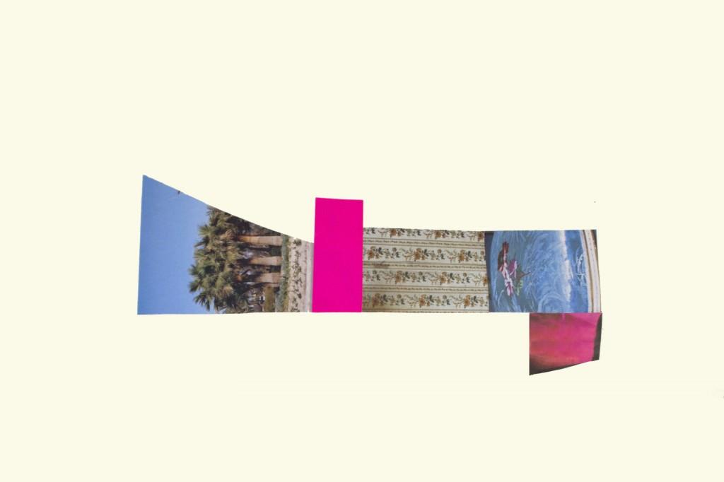 Ángela Cuadra, Sin título, 2013. Serie de 12 dibujos. Collage, 30 x 42 cm. c/u. Imagen cortesía de galería Nuble