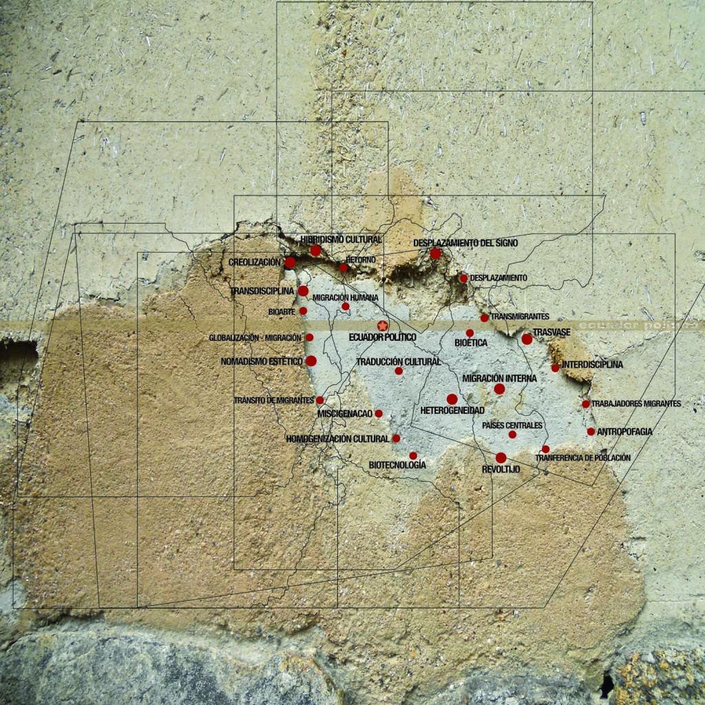 """""""La isla Migra"""" (2012). Carlos Aguirre. Impresión cromógena. 90x90 cm. Imagen cortesía del Área de Gestión Cultural de la UPV."""