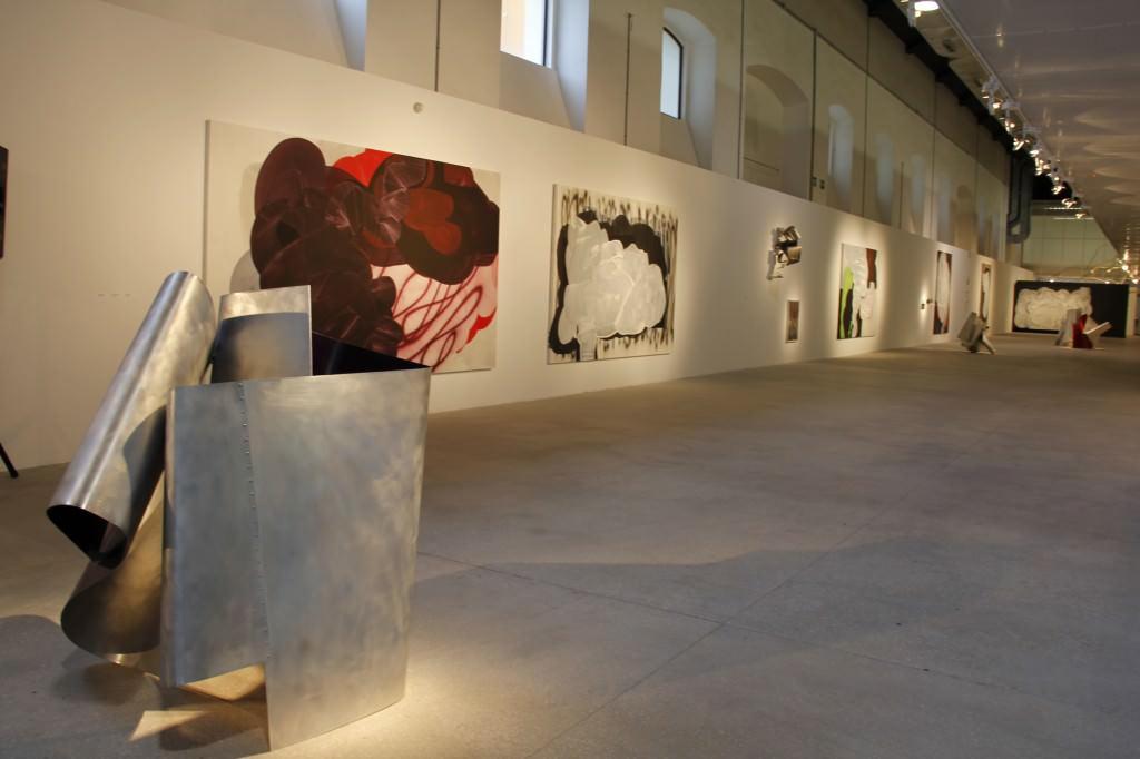 """Juan Carlos Nadal, """"Basso Continuo"""". Foto de Sala. Imagen cortesía de Galería Aural."""