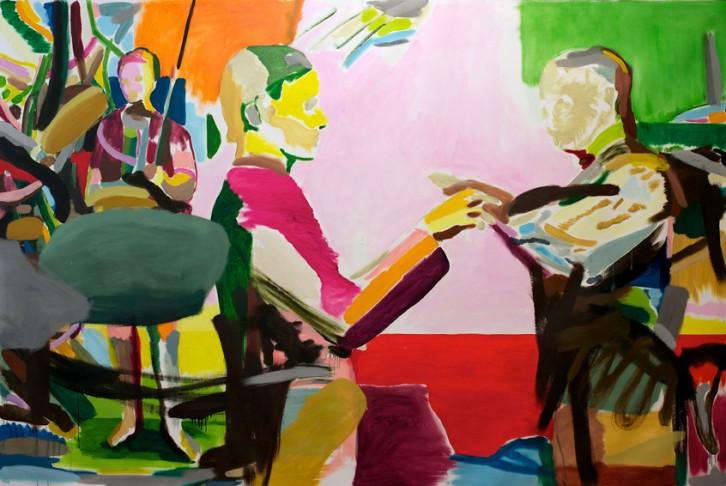 Obra de Morten Slettemeås, cortesía de la Galería Luis Adelantado.