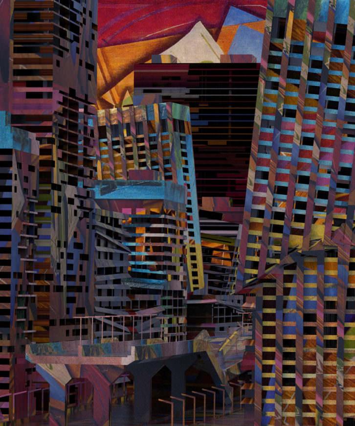 Obra de Jon Rafman, cortesía de la Galería Luis Adelantado.