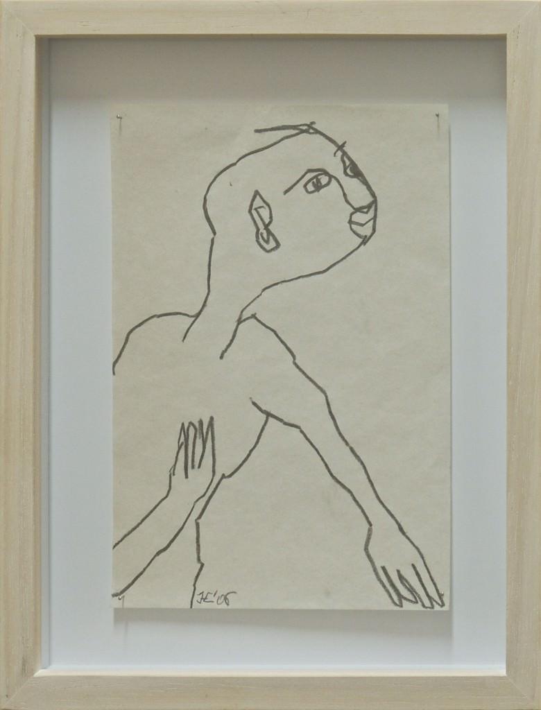 Esprit des males, Hélène Crecent. Imagen cortesía de Trentatres Gallery.