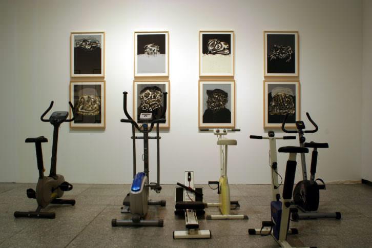 """Obra de """"Feria"""", Iñaki Larrimbe. Imagen cortesía de ARTIUM."""