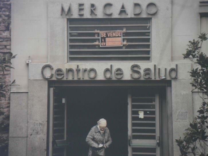 Imagen de Olmo Calvo para la exposición Crisis. PhotOn. La Nau