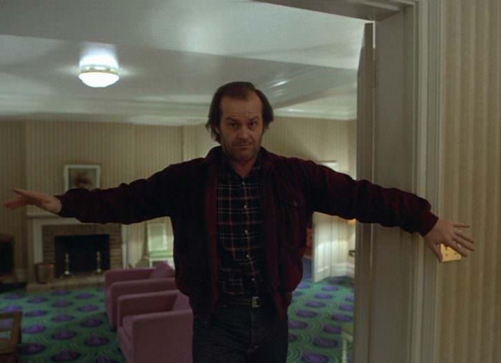 Imagen de El resplandor. Stanley Kubrick