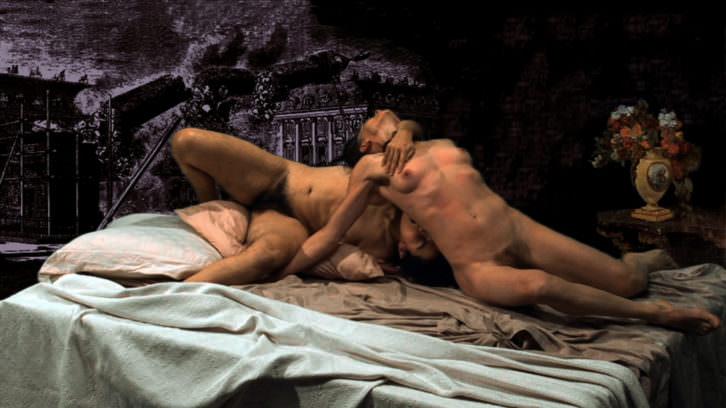 """""""El sueño de Courbet"""", Fernando Baena. Vídeo. Año: 2010. Formato: 16:9. Idioma: Español. Duración: 33 min. 15 seg. Imagen cortesía de Galería Magda Bellotti."""