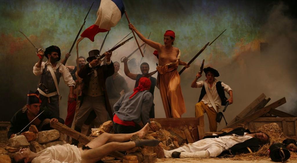 "Cristina Lucas, ""La liberté raisonnée"", 2009. Video HD 4' 46''. Imagen cortesia de la artista."