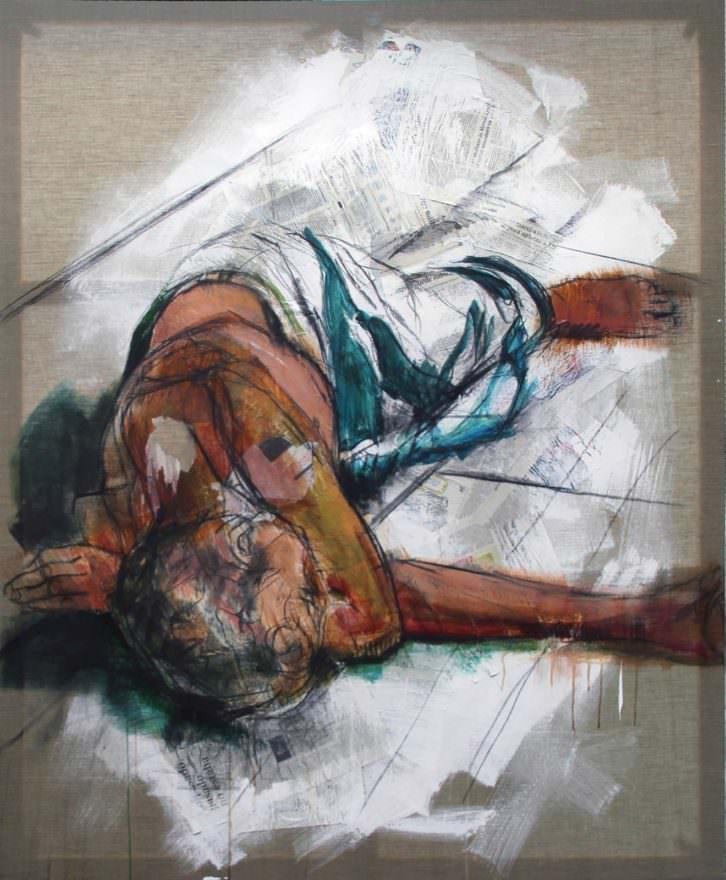 Mendigo, de Carlos Sebastiá. Espacio 40