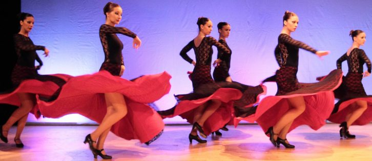 Miradas. Ballet Español Fusión. Imagen cortesía de Russafa en Dansa.