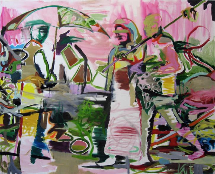Morten Slettemeas. Galería Luis Adelantado. Nits de l'Art