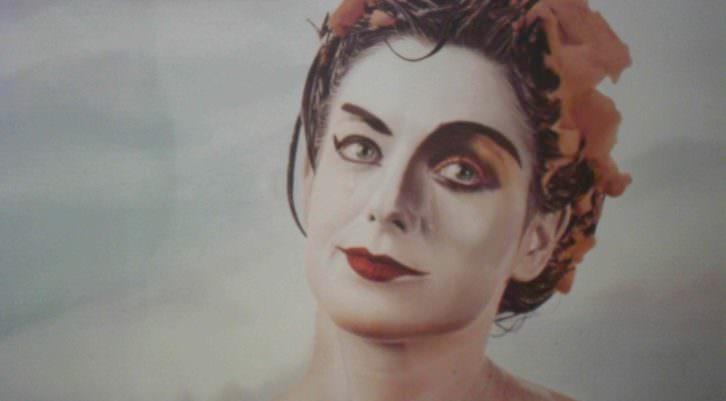 Cartel de teatro, 1987. Ouka Leele. Galería Punto