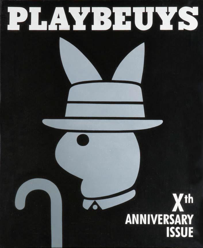 Playbeuys, de Joan Verdú. Galería Mr. Pink