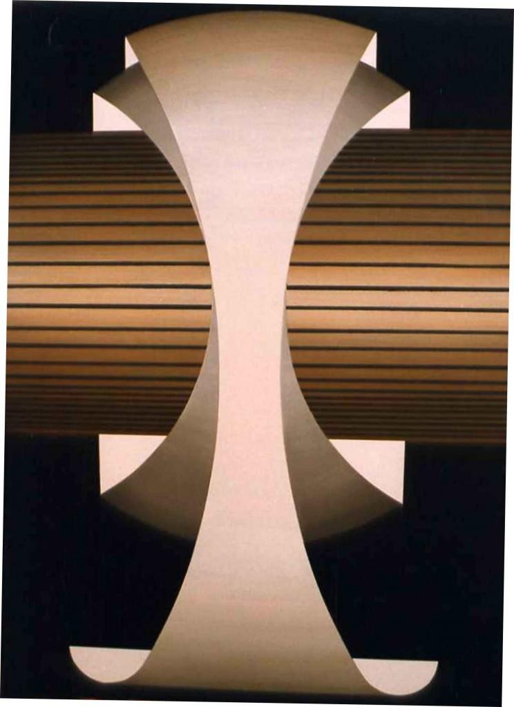 Rinaldo Paluzzi. S/T, 2000, acrílico sobre tabla, 60 x 45cm. Imagen cortesía de J. Martín