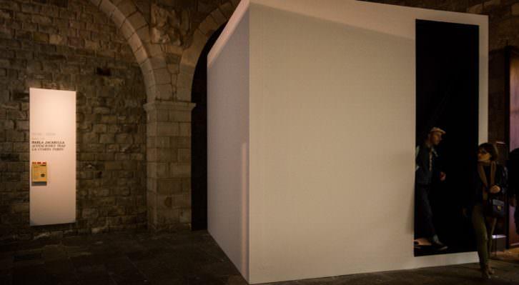 """""""Acotaciones tras la cuarta pared"""", Marla Jacarilla. Imagen cortesía de la artista."""