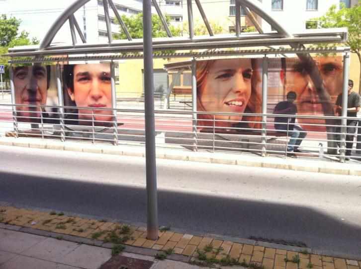 Beat Streuli. New Street Tram. Castellón, 2013. Imagen cortesía EACC