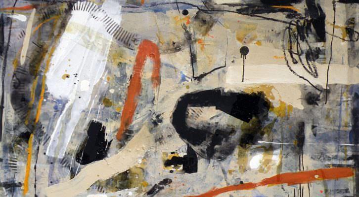 Aoul, de Laura Iniesta, de su exposición De puño y letra. Imagen cortesía de la galería Alba Cabrera