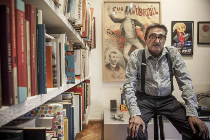 Carlos Pérez. Fotografía: Miguel Lorenzo