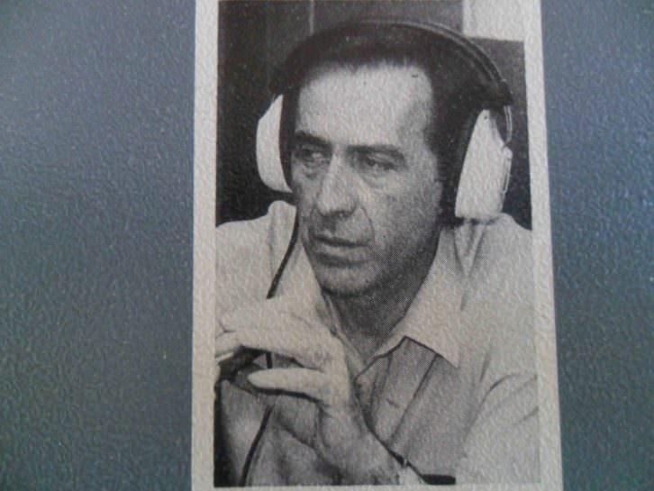 Fotografía de Fernando Poblet, sacada de la contraportada de su libro Tú serás Baudelaire, Ediciones Noega