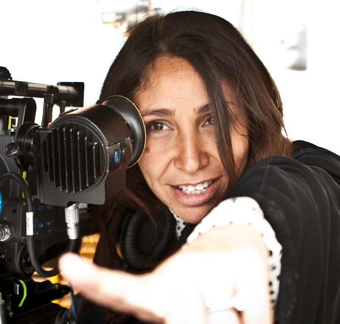 La directora saudí Haifaa Al-Mansour. Imagen cortesía de Cinema Jove
