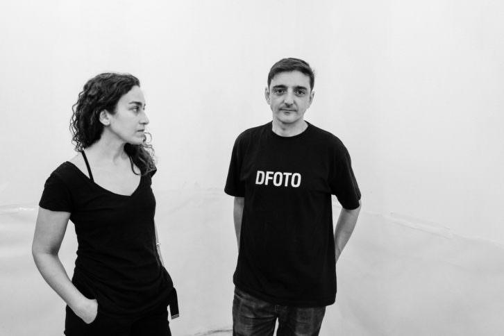 Miriam Lozano y Mira Bernabeu en el nuevo Espaivisor. Foto: Miguel Lorenzo