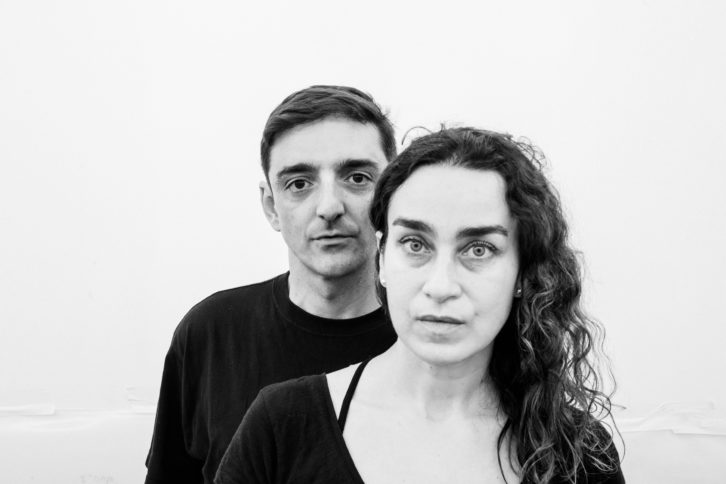 Mira Bernabeu y Miriam Lozano en el nuevo Espaivisor, Valencia. Foto: Miguel Lorenzo