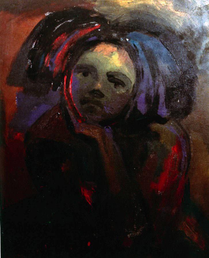 Retrato de niña, de Carlos Romero. Imagen cortesía de ESAT.