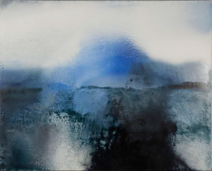 """""""Shy"""", Luis Moscardó. Óleo sobre lienzo, 160 x 200 cm. 2013. Imagen cortesía de Kir Royal Gallery."""