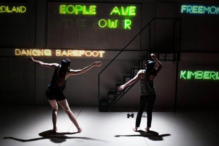 """""""Vamos a hacerte bailar: persiguiendo a Patti Smith"""", imagen cortesía de Taiat Dansa."""