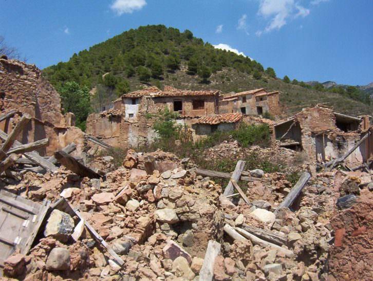 Despoblado de Suera Alta. Pueblos valencianos abandonados. Foto: Agustín Hernández
