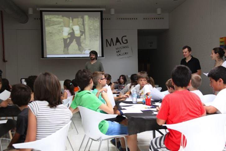 Arranca el 2º Campus de Jóvenes Talentos de Mustang Art Gallery. Imagen cortesía de Mustang Art Gallery.