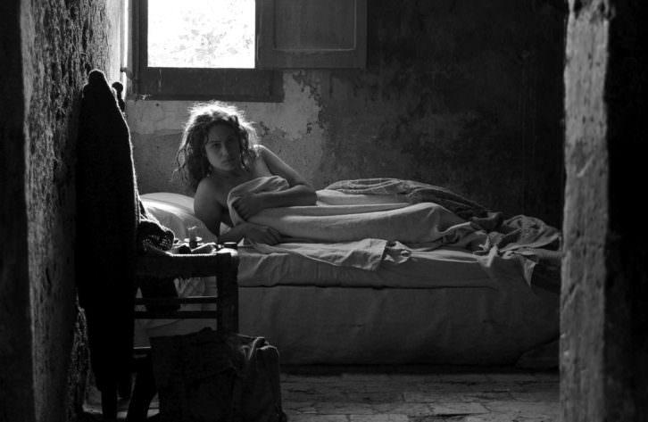 Fotograma de El artista y la modelo, de Fernando Trueba. Cine d'Estiu del Centre del Carme