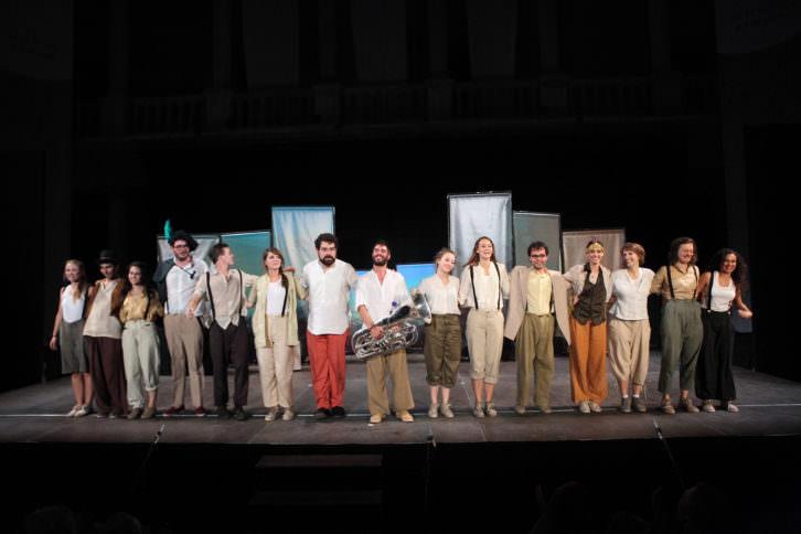 Imagen de los jóvenes Erasmus del proyecto La Pequeña Europa. Imagen cortesía de los organizadores.
