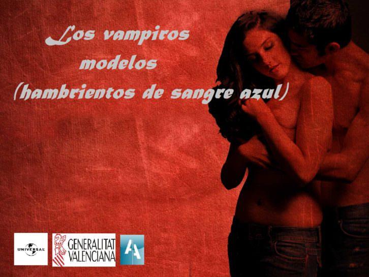 """Adaptación cinematográfica de """"Los vampiros modelos hambrientos de sangre azul"""" que ha contado con la colaboración de la Generalitat Valenciana y CulturArts."""