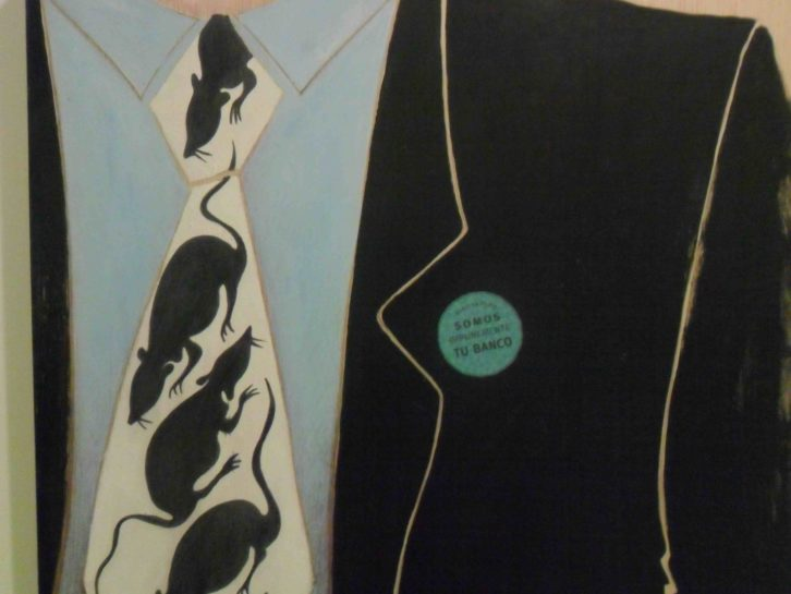 Obra de Federico Méndez, para 'Políticamente incorruptos'. Imprevisual Galería