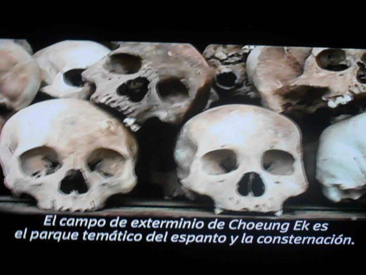 Imagen del video de Gervasio Sánchez y Marta Palacín, en la exposición Desaparecidos. Museu Valencià d'Etnologia