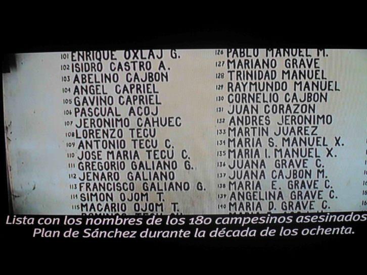 Imagen del video de Gervasio Sánchez y Marta Palacín, de la exposición Desaparecidos. Museu Valencià d'Etnologia