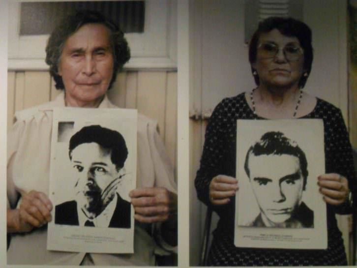 Detalle de una de las imágenes de Gervasio Sánchez, de la exposición Desaparecidos. Museu Valencià d'Etnologia