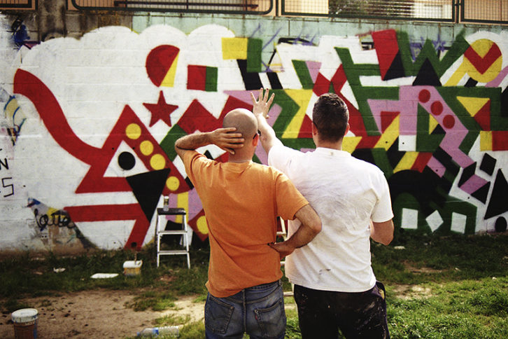"""Around Graffiti"". Imagen por cortesía de Carmen Gray."