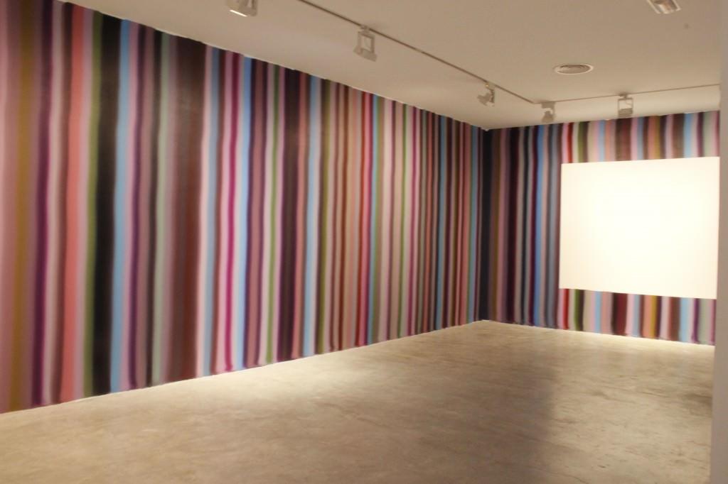 Obra de Ferrán Gisbert para 'TEMPLO. El proceso como forma'. Imagen cortesía de Galería Aural.