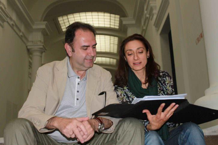 Los codirectores Rosana Pastor y Enrique Viciano. Imagen cortesía de los propios autores