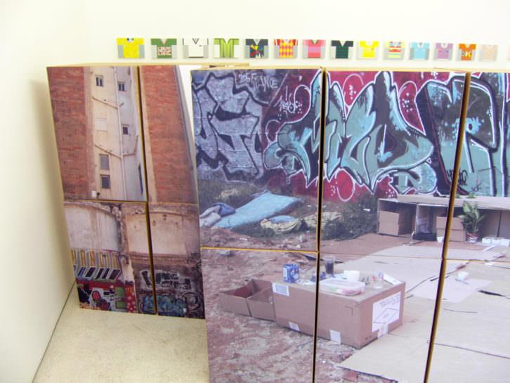"""""""Colectiva de Verano"""" en Kubikgallery, imagen cortesía de la galería."""