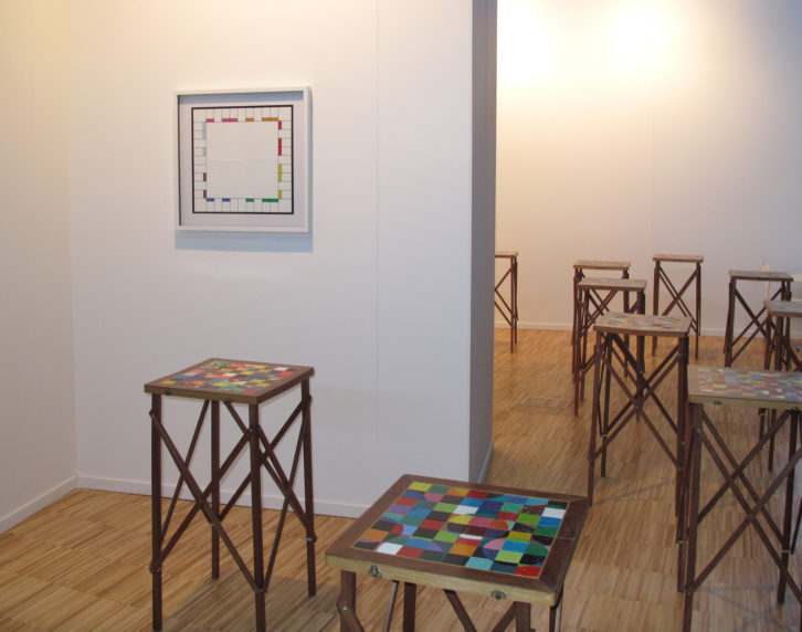 Galería Nuble en Arte Santander. Imagen cortesía de la galería.